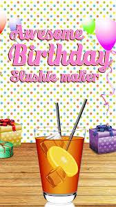 jeux de fille gratuit cuisine de génial anniversaire slushie maker pro jeux de fille gratuit
