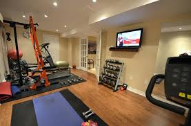 Basement Gym Ideas Fabulous Your Home With Decoration Cool