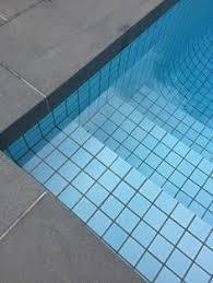 blue pool tile travertine blue blue pool