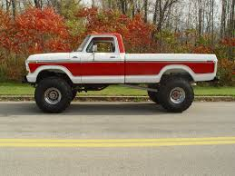 Very Nice White/red 1978 Ford F-150 4X4 Mine Is A 2 Wheel Drive ...