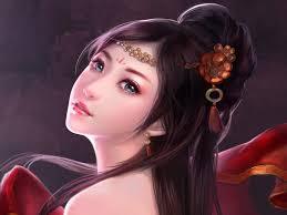 Wallpaperwiki Beautiful Fantasy Girl Painting Wallpaper PIC