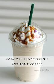Caramel Fappuccino Without Coffee Recipe Pin