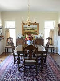 Pleated Dining Room Curtains