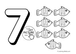 Introducing Number 13 Coloring Page Pages Kids In Numbers Prepare