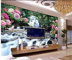 großhandel mode dekor hauptdekoration für schlafzimmer wohnzimmer blumen blumen und vögel landschaftsmalerei wanddekoration malerei blühen