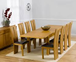 Rustique 150cm Solid Oak Extending Dining Table With Montreal Chairs