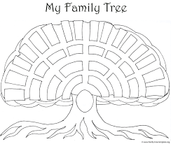 Drawing A Family Tree Template Templates Genealogy