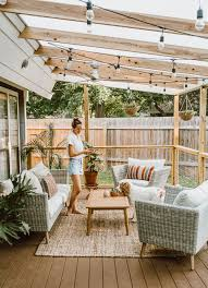 100 House Patio Before After Our Reveal LivvyLand Austin