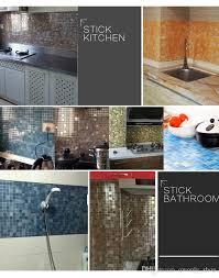pet pvc wand fliesen aufkleber badezimmer küche