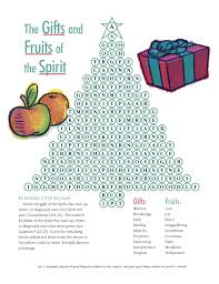 The Gifts And Fruits Of Spirit