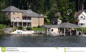 100 Boathouse Architecture Waterfront Houses With Stock Photo Image Of