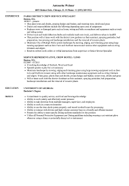 Download Service Crew Resume Sample As Image File