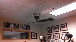 industrial looking ceiling fans graphite industrial style ceiling