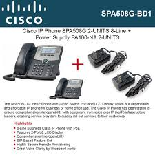 Cisco IP Phone SPA508G (2-UNITS) 8-Line With 2Port Switch PoE + 2 ... Voip Internet Phone Service In Lafayette In Uplync How To Set Up Voice Over Protocol Your Home Much 2 Months Free Grandstream Providers Supply Cloudspan Marketplace Santa Cruz Company Telephony Ubiquiti Networks Unifi Enterprise Pro Uvppro Bh Startup Timelines Vonage Timeline Website Evolution Residential Harbour Isp Amazoncom Obi200 1port Adapter With Google Features Abundant And Useful For Call Management Best 25 Voip Providers Ideas On Pinterest Phone Service