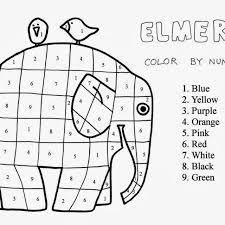 Elephant Coloring Page Printable Pages For Kids And Girls