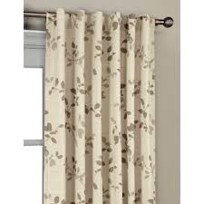 Tommy Hilfiger Curtains Diamond Lake by Lambrequin Casablanca Modern Metallic Trellis Pattern Curtain