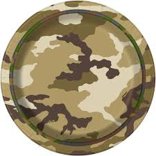 Army Camo Bathroom Decor by 7