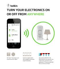 Belkin WeMo Switch White F7C027fcAPL W The Home Depot