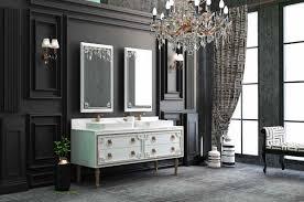 casa padrino luxus badezimmer set weiß gold 1 waschtisch mit 4 schubladen und 2 waschbecken und 2 wandspiegel luxus badezimmermöbel