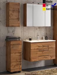 badezimmer tessin 11 wotan eiche 4 teilig waschtisch spiegelschrank expendio