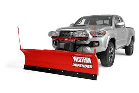 Western Defender Snow Plow - Dejana Truck & Utility Equipment