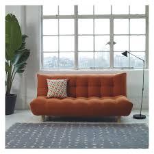 KOTA Orange Fabric 2 Seater Sofa Bed Buy Now At Habitat UK For