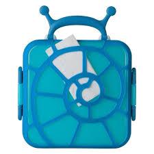 Boon Bento Lunch Box Snail Blue B11151