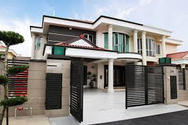100 Semi Detached House Design Exterior Malaysia Front