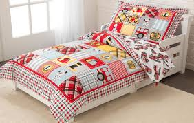 Kidkraft Fire Truck Toddler Bedding Set
