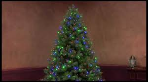 Ge Artificial Christmas Tree Replacement Bulbs color choice pre lit tree youtube