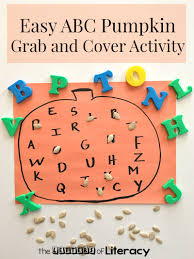 Spookley The Square Pumpkin Book Cover by Easy Pumpkin Alphabet Fall Literacy Activity Literacy Activities