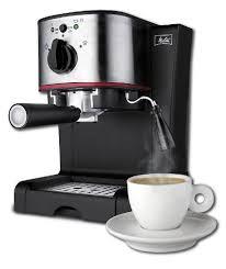 Melitta Espresso Maker With Powerful 15 Bar Italian