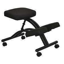 tabouret bureau ergonomique du genou ergonomique chaise avec roulettes et mémoire mousse