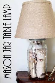 Fillable Craft Table Lamp by 25 Unique Mason Jar Lamp Ideas On Pinterest Mason Jar Lighting