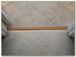floor transition strips carpet to tile tiles home decorating