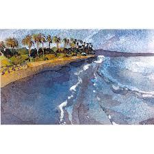 100 Santa Barbara Butterfly Beach Print By Karin Shelton