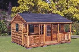 16x20 Gambrel Shed Plans by 16 U0027 X 20 U0027 Cottage Shed With Porch Project Plans Design 61620