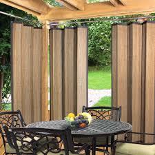 patio curtains outdoor idea breathingdeeply