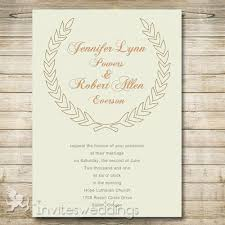 Rustic Neutral Bohemian Wedding Invitations IWI279