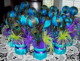 Peacock Wedding Table Decorations Wedding Party Decoration