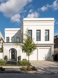 Neoclassical House Modern Neoclassical Home Features Chic Color Palette
