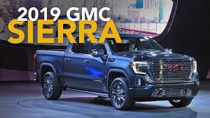 100 Gmc Trucks 2019 GMC Sierra First Look YouTube