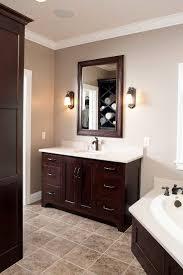 Dark Colors For Bathroom Walls by Bathroom Wall Color With Dark Cabinets U2022 Bathroom Cabinets