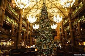 Christmas Tree Permit Colorado Springs 2014 by Photos Holiday Decorations At Disney U0027s Animal Kingdom Lodge