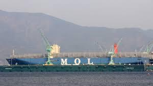 mol triumph devient le plus gros porte conteneurs mondial