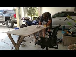building a desk out of pallets for 5 i spent 25 so mine would
