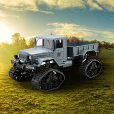 100 Used Rc Trucks For Sale Military Car Drive Off Road RC Crawler Car 4WD 116 Tracked Truck
