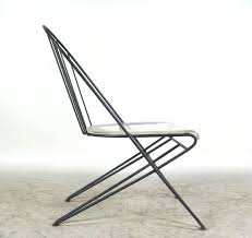 100 1960 Vintage Metal Outdoor Chairs Wire Chair France 1950 SIMPLE BY DESIGN Chair Wire