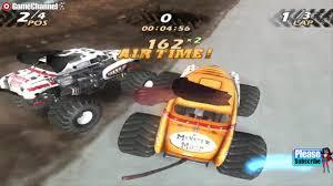 100 Monster Trucks Games Jam 4x4 Truck Stunt Ps2 Truck Gameplay Video 2