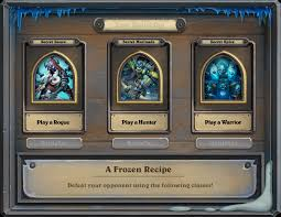 Top Decks Hearthstone September 2017 by August 2017 Fireside Brawl A Frozen Recipe Fireside Gatherings